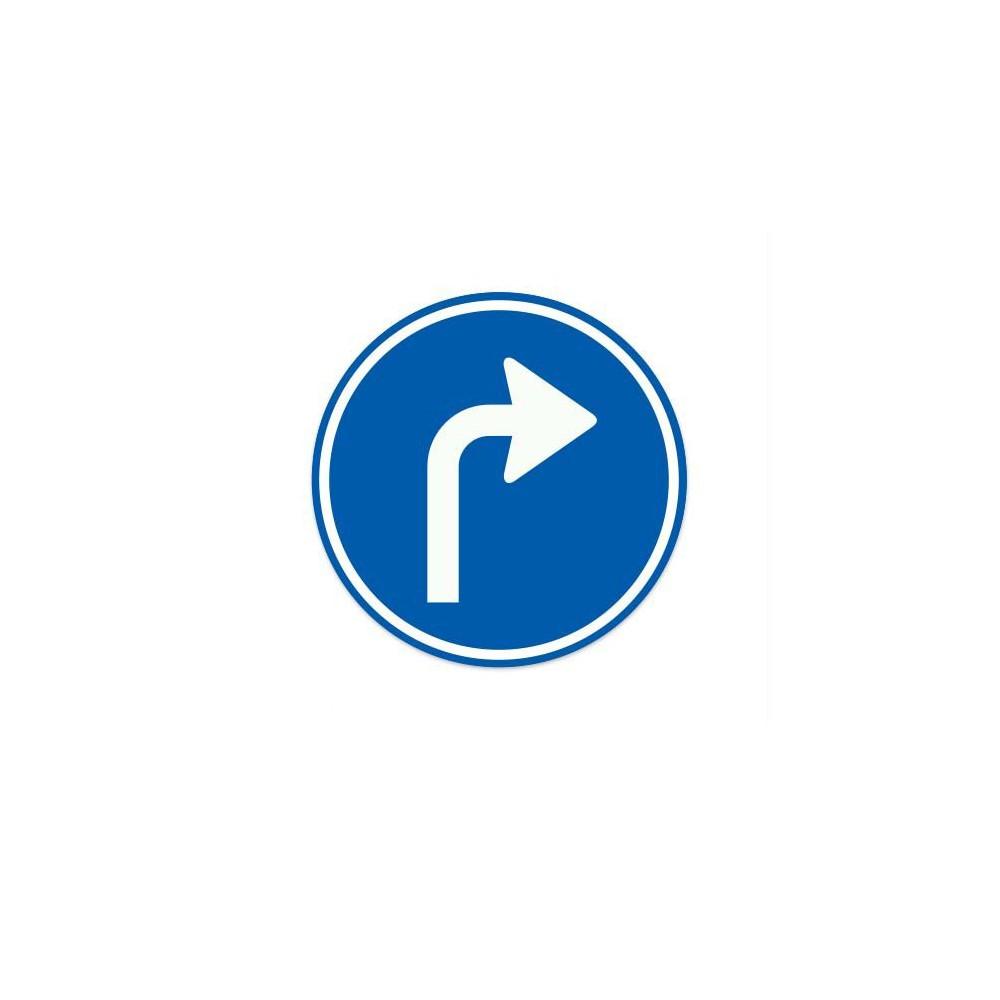 D05-R Gebod tot het volgen van de aangegeven rijrichting
