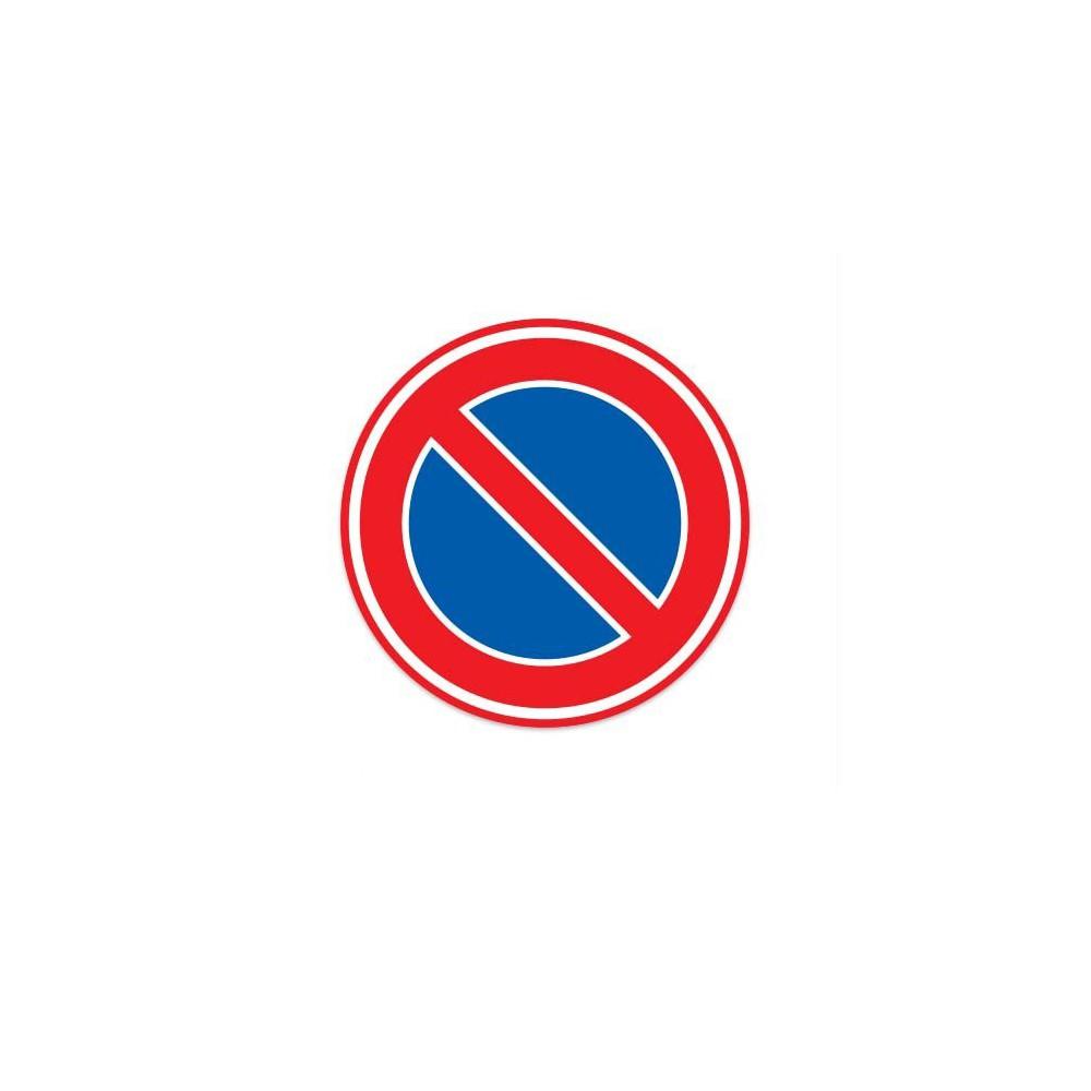 E01 Parkeerverbod verkeersbord sticker
