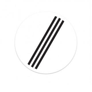 F08 Einde van alle door borden aangegeven verboden verkeersbord sticker