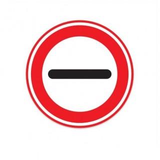 F10 Stop verkeersbord sticker