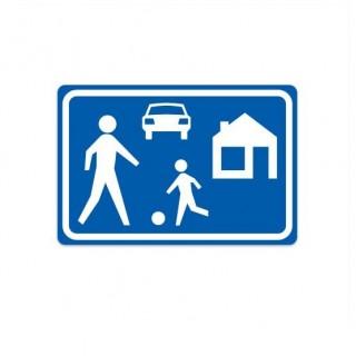 G05 Erf / Woonerf verkeersbord sticker