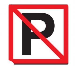 Verboden ligplaats te nemen sticker