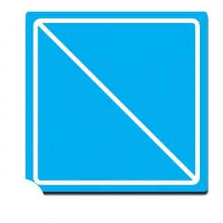 Einde van een beperking of een verbod/gebod sticker