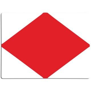 Seinvlag letter F