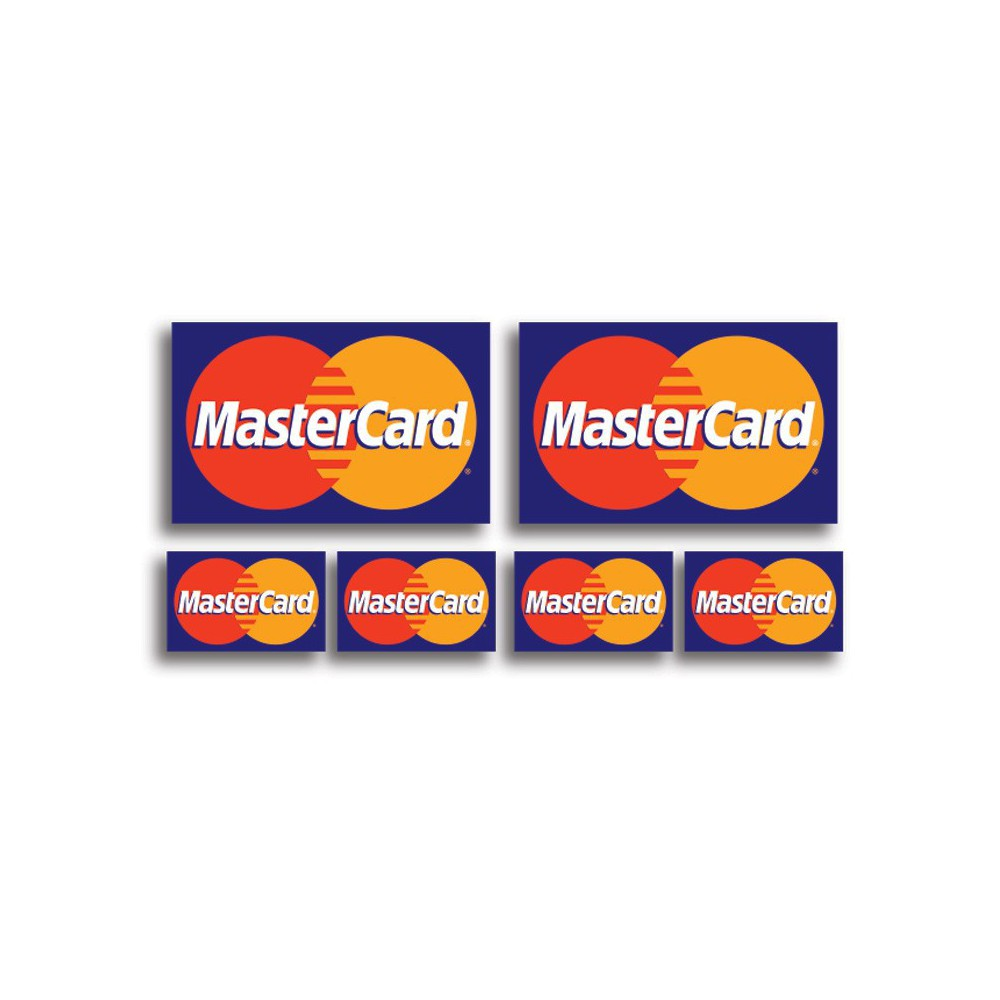 Mastercard stickers