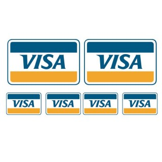 Visa stickers