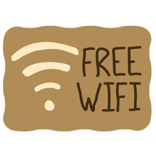 Cafe Wifi sticker