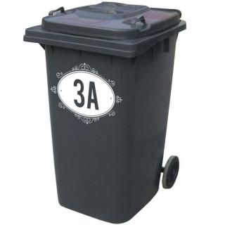 Kliko stickers huisnummer