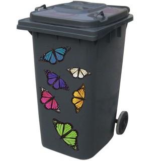 Kliko sticker vlinders
