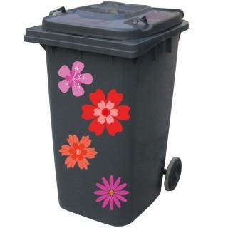 Kliko sticker bloem roze