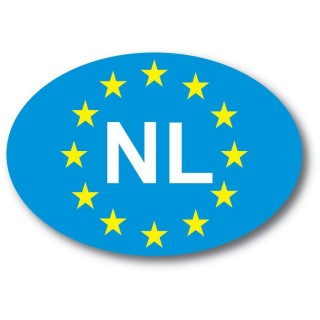 nl sticker EU sterren foto autosticker
