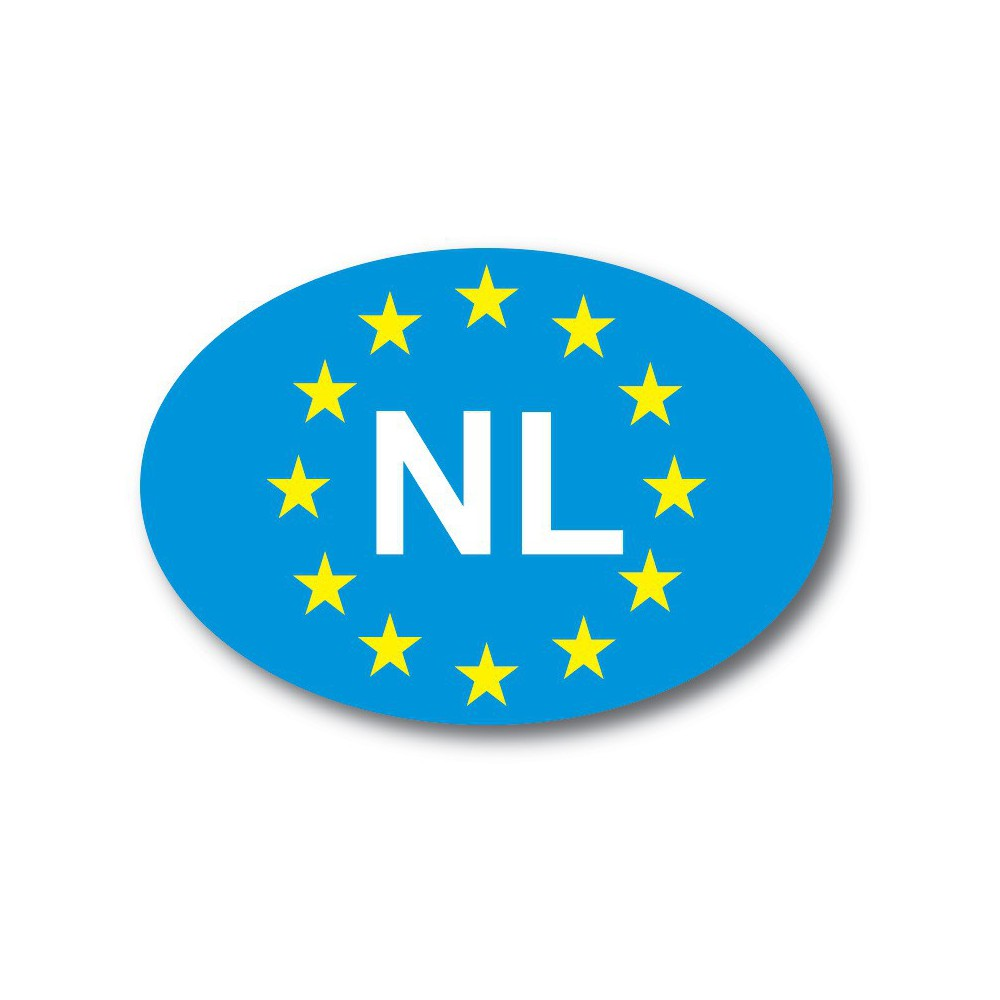 NL sticker EU sterren