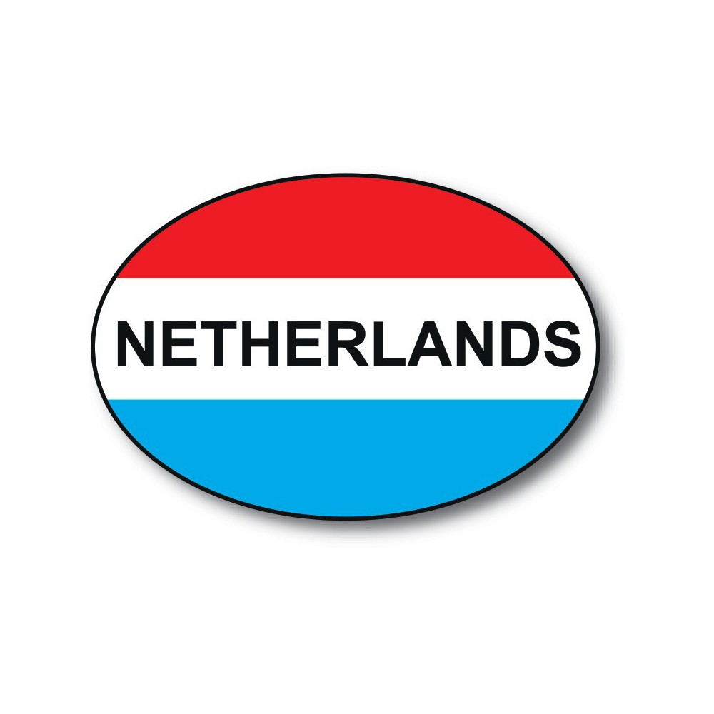 NL sticker Netherlands