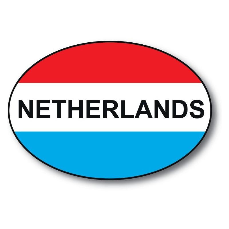 nl sticker Netherlands