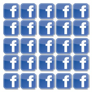 Facebook stickers set van 50