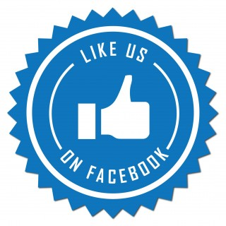 Like us on facebook Sticker set facebookstickers