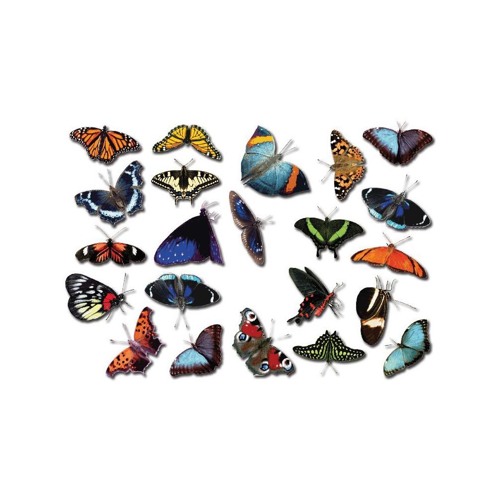 Fiets stickers Vlinders set 2