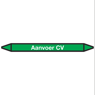 Aanvoer-CV Pictogramsticker Leidingmarkering