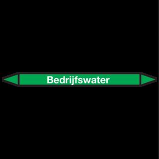 Bedrijfswater Pictogramsticker Leidingmarkering