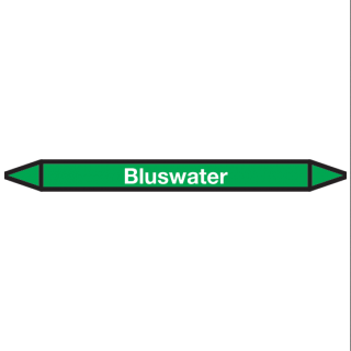 Bluswater Pictogramsticker Leidingmarkering