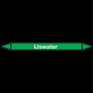 IJswater Pictogramsticker Leidingmarkering