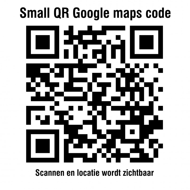QR code google maps stickers