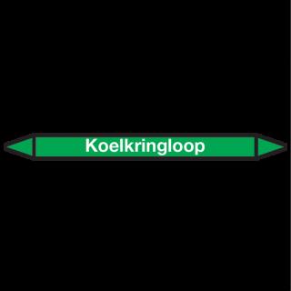 Koelkringloop Pictogramsticker Leidingmarkering
