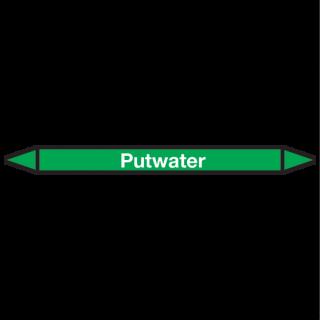Putwater Pictogramsticker Leidingmarkering