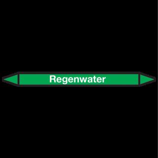 Regenwater Pictogramsticker Leidingmarkering