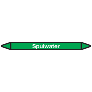 Spuiwater Pictogramsticker Leidingmarkering