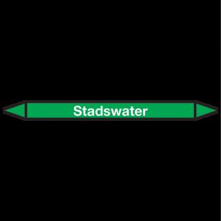 Stadswater Pictogramsticker Leidingmarkering