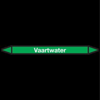 Vaartwater Pictogramsticker Leidingmarkering