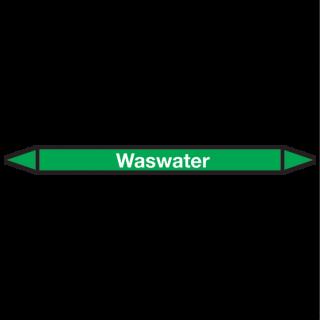 Waswater Pictogramsticker Leidingmarkering
