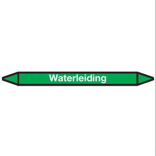 Waterleiding Pictogramsticker Leidingmarkering