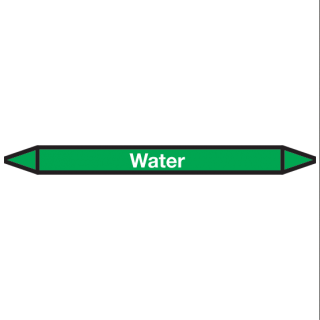 Water Pictogramsticker Leidingmarkering