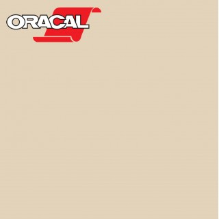 Oracal 751C Plakfolie Glans Light Ivory 018