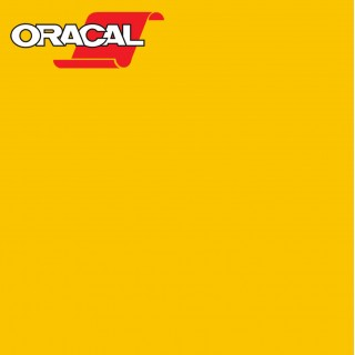 Oracal 751C Plakfolie Glans Golden Yellow 020
