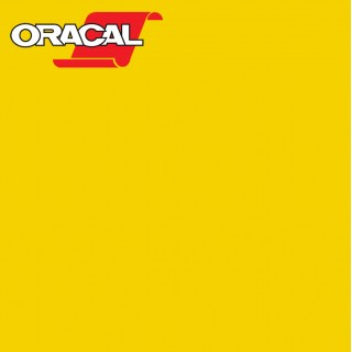 Oracal 751C Plakfolie Glans Yellow 021