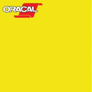 Oracal 751C Plakfolie Glans Brimstone Yellow 025