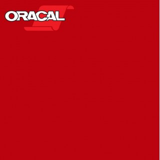 Oracal 751C Plakfolie Glans Tomato Red 027