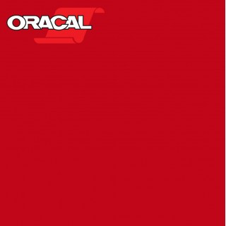 Oracal 751C Plakfolie Glans Cardinal Red 028