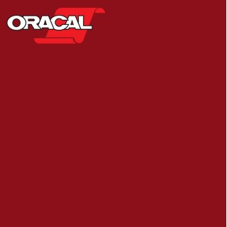 Oracal 751C Plakfolie Glans Dark Red 030