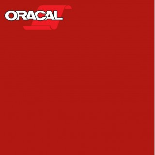 Oracal 751C Plakfolie Glans Red 031