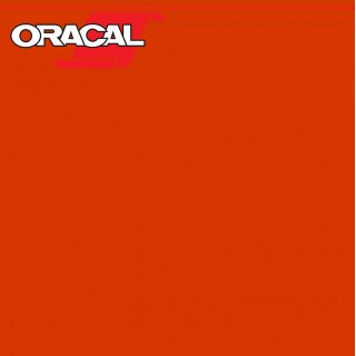 Oracal 751C Plakfolie Glans Red Orange 033