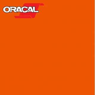 Oracal 751C Plakfolie Glans Orange 034