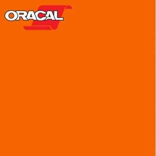 Oracal 751C Plakfolie Glans Pastel Orange 035