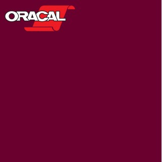 Oracal 751C Plakfolie Glans Bordeaux 048