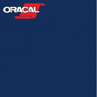 Oracal 751C Plakfolie Glans Dark Blue 050