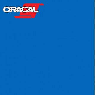 Oracal 751C Plakfolie Glans Azure Blue 052