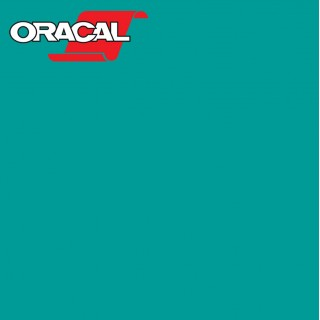 Oracal 751C Plakfolie Glans Turquoise 054